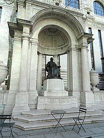 William Cullen Bryant Memorial by Herbert Adams - DSC06445.JPG