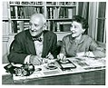 William F. Friedman and Elizebeth Smith Friedman - National Cryptologic Museum - DSC07696.JPG