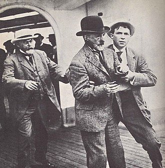 Charles Chapin - W.J. Gaynor after being shot. August 9, 1910