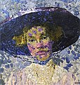 Woman with Blue Hat Augusto Giacometti (1910).jpg