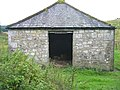 Wood store at Wills Bothy - geograph.org.uk - 1476128.jpg