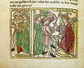 Woodcut illustration of Verginia's trial before Appius Claudius and her death at the hand of her father Verginius - Penn Provenance Project.jpg