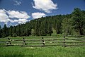 Wooden Fence in Field, Malheur National Forest (36169534432).jpg