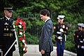 Wreath Laying, Tomb of the Unknown (25704436795).jpg