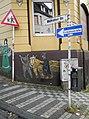 Wuppertal, Charlottenstr. 78, Sockelbemalung, Bild 005.jpg