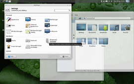 Screenshot di Xfce