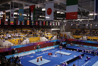 Bishan, Singapore - Gymnastics competitions at the 2010 Summer Youth Olympics
