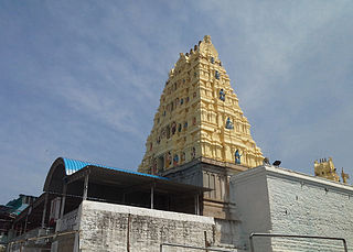 Sri Lakshmi Narasimha Swamy Temple, Yadadri building in India