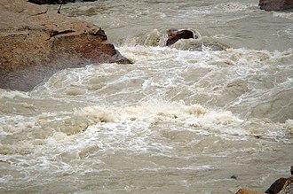 Yarlung Tsangpo - Yarlung Tsangpo River, whitewater