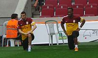 200px Yilmaz and Drogba