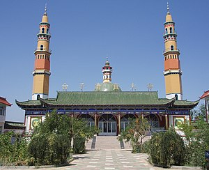 Taizi Mosque in Yinchuan, China.
