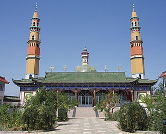 Yinchuan - Taizi Great Mosque