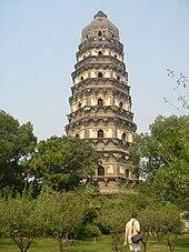 Yunyan Temple Pagoda in Suzhou