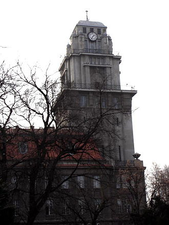 Senta - The tower of the City Hall