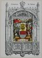 Zentralbibliothek Solothurn - Armoiries de Soleure Die Statt Solothurn 1606 - aa0257.tif