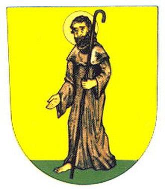Chroustovice - Image: Znak obce Chroustovice