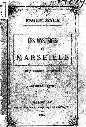 Les Mystères de Marseille cover