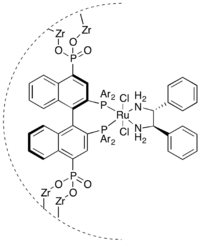 ZrPhosphonate Heterogeneous Catalyst for Asymmetric Hydrogenation of Aryl Ketones.png