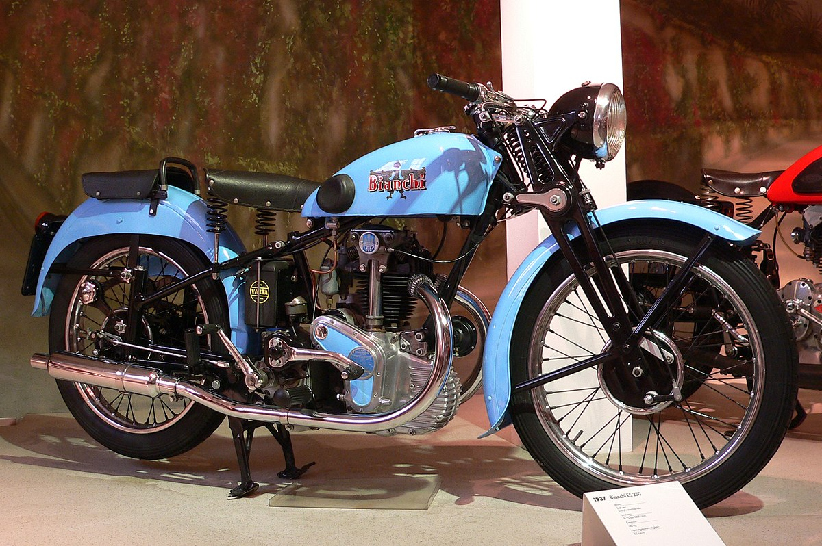 bianchi moto motorcycles motorcycle wikipedia bike edoardo tonale 1885 1937 es epoca es250 motorbikes bicycles scooters antique italian wiki