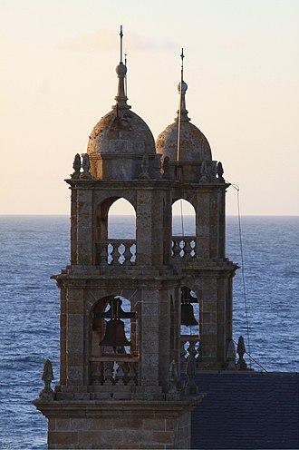 """Virxe da Barca sanctuary - Image: """"A BARCA"""" Santuario Muxía A Coruña"""
