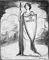 """Denmark Strengthens Women in Time of War"" by Nina Allender, June 12, 1915 (c59ed408-ea9e-466c-af5f-8a65e124c147).jpg"