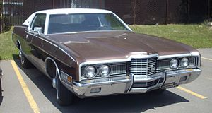Ford LTD (Americas) - 1972 Ford LTD 2-Door Hardtop