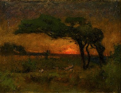 'Evening Landscape' by Elliott Daingerfield.jpg