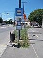 'Hódmezővásárhely, Kálvin János tér' Haltestelle, Andrássy Straße, 2021 Hódmezővásárhely.jpg
