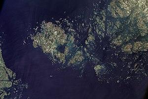 Geography of Åland - The Åland Islands.