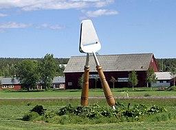 Verdens største ostehøvl findes i Ånäset