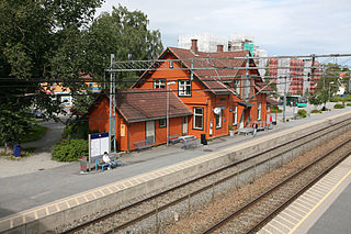 Ås Station railway station in Ås, Norway