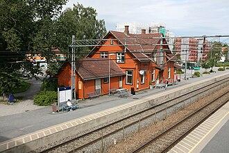 Peter Andreas Blix - Image: Ås stasjon TRS 070804 006
