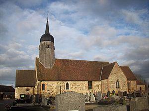 Bois-Arnault - Image: Église Saint Pierre 2