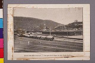 État de São Paulo - Une Gare de La Ligne du São Paulo Railway