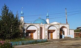 Islam in Mongolia - The Main Mosque in Ölgii