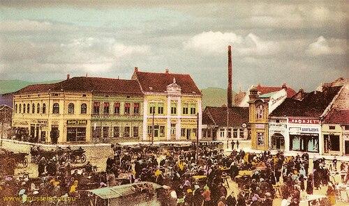 Čačak, at the beginning of 20th century