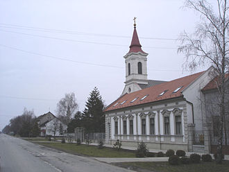 Đura Džudžar - Byzantine Catholic Church in Đurđevo (Serbia), hometown of Bishop Đura Džudžar