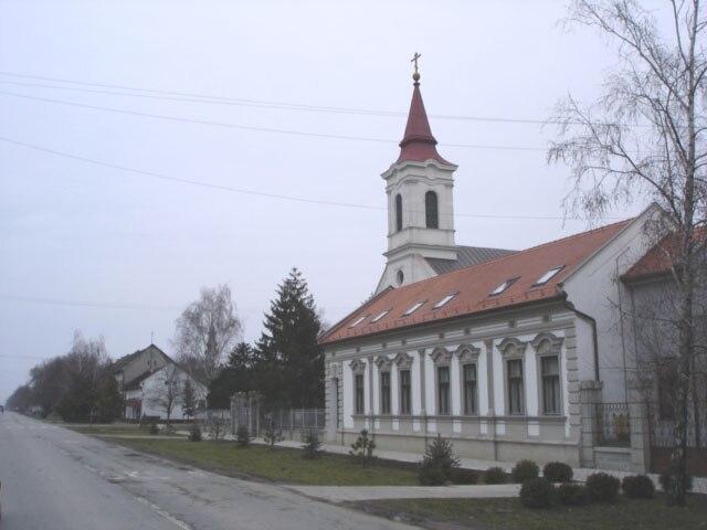 Đurđevo, Main street and the Uniate Church