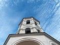 Колокольня, в Николо-Пешношском монастыре, колокола и небо.jpg