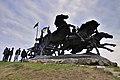 Монумент «Легендарна тачанка» (Каховка) 01.jpg