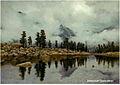 Озеро Горных духов 120 х 165 см. х.м..jpg