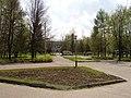 Около фонтана - памятника космонавтам, с-к «Юбилейный» - panoramio.jpg