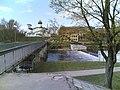 Пешеходный мост в Бродах и ц.Богоявления с Запсковья.jpg