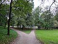 Подходы к пруду парковой зоны между Петергофским шоссе и улицей Чекистов Красносельского района Санкт-Петербурга.jpg