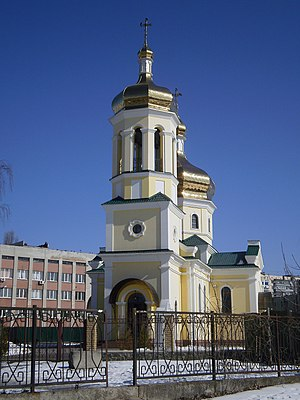 Brovary - A church in Brovary