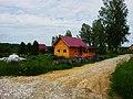 Строящийся дом в поселке УНИВЕРСИТЕТСКИЙ рядом с Академгородком Новосибирска 06.jpg