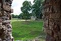 Цесис (Латвия) Замок, вид из амбразуры - panoramio.jpg