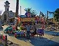 أمام قلعة مدخل قلعة حلب.jpg