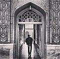 احدى مداخل حرم الامام الرضا عليه السلام بمدينة مشهد 2014-06-16 08-48.jpg