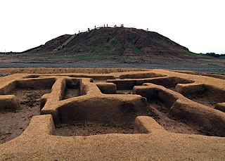 Jiroft City in Kerman, Iran